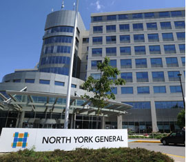 Cognos Analytics North York General Hospital