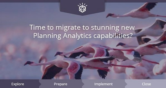 Migrate to Planning Analytics