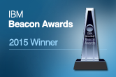 DataClarity Wins 2015 IBM Beacon Award for Outstanding Business Analytics Solution