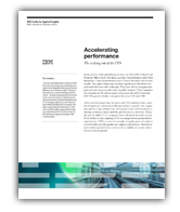 Accelerating performance: The evolving role of the CFO