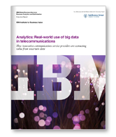 Real-world Use of Big Data in Telecommunications