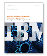 Analytics: A Blueprint for Value in Midmarket Organizations