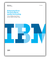 Embracing Error: The First Step to Quality Forecasting
