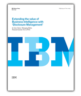Extending the value of BI with Disclosure Management