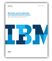 Maximize Asset Productivity and Operational Performance