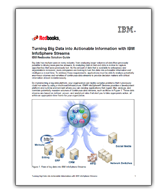 Turning Big Data into Actionable Information