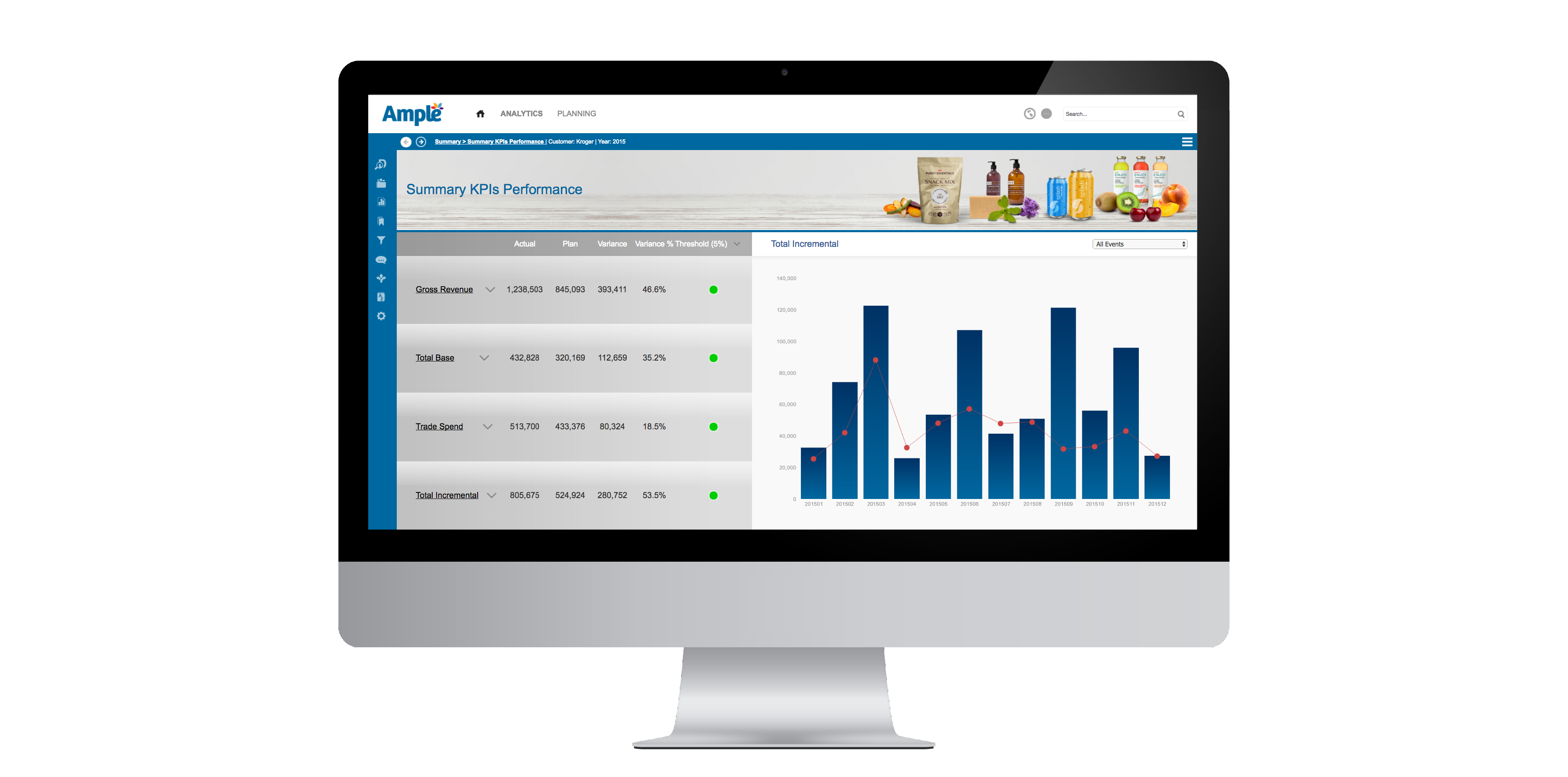 Trade Promotion Planning and Analytics Screen 9