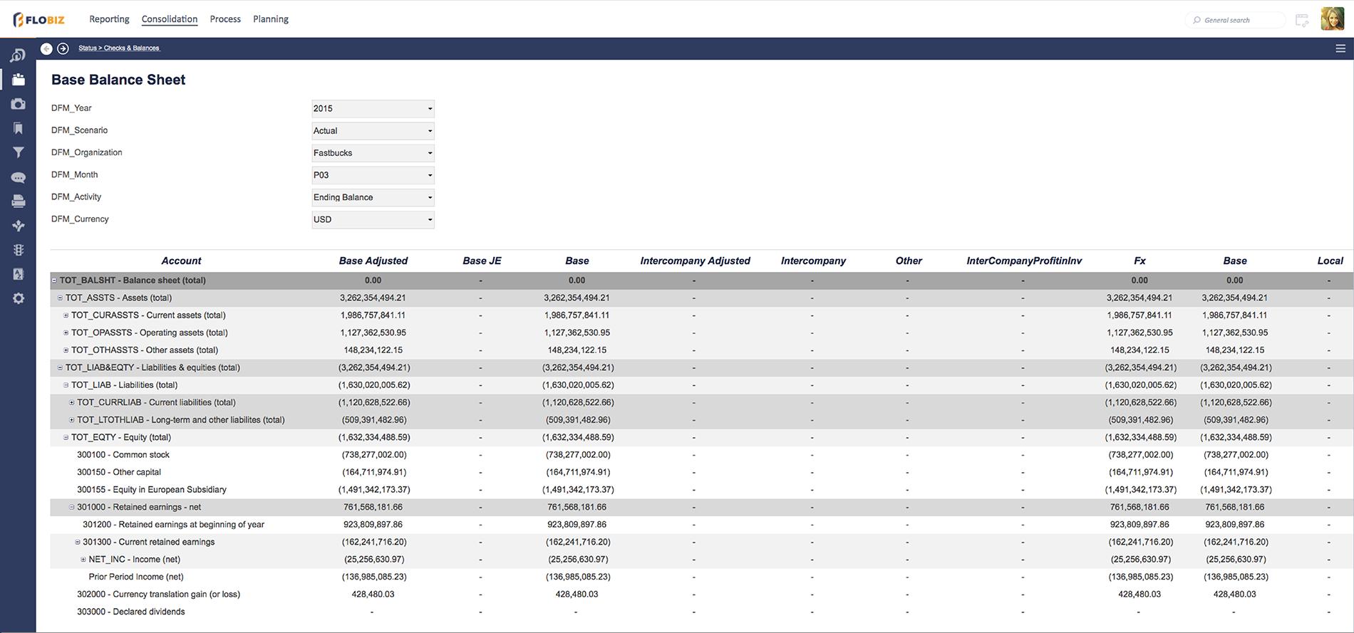 DataClarity Financial Analytics