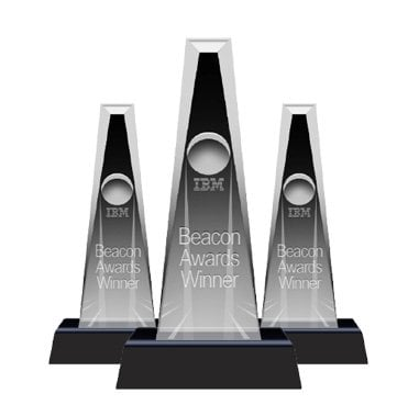 Five IBM Beacon Awards and counting