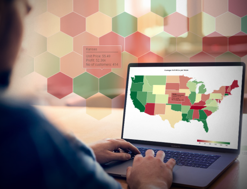 Filled Map – a key visualization in geospatial analysis