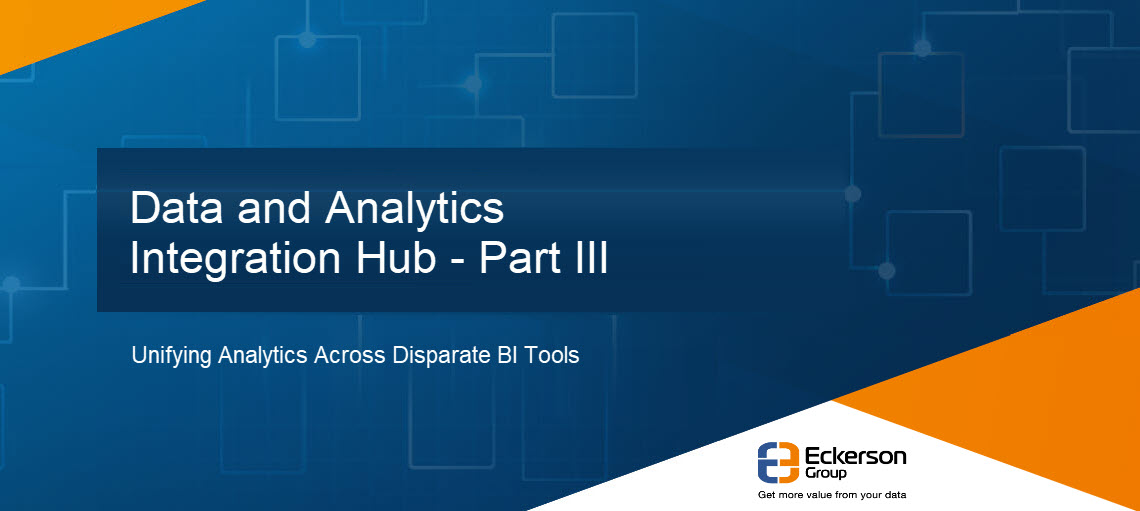 Data and Analytics Integration Hub - Part 3