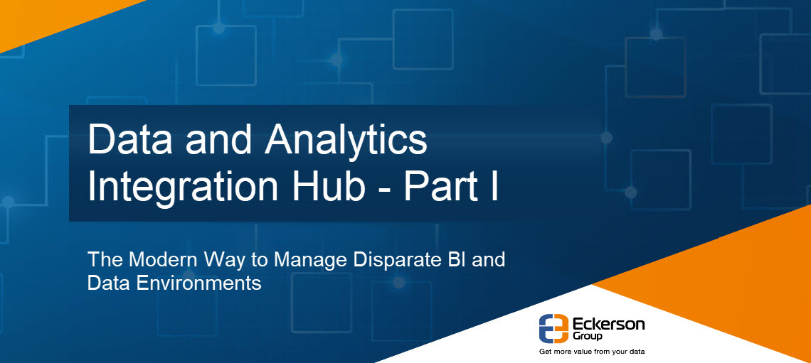Data And Analytics Integration Hub - Part 1